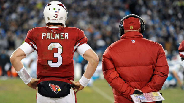 On Further Review: Will Cardinals stick with Palmer at QB? IMAGE
