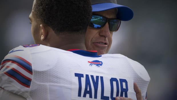 Is Tyrod Taylor the key to Rex Ryan's job in Buffalo? -- IMAGE