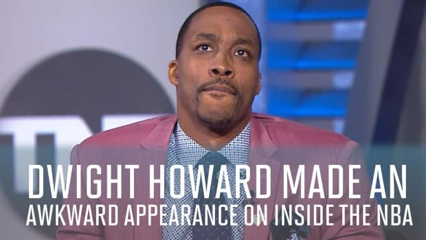 Watch: Dwight Howard grilled on Inside the NBA -- IMAGE