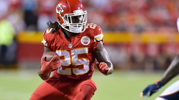 Chiefs' Jamaal Charles uncertain for Week 1 - IMAGE
