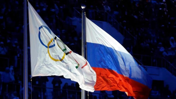 IOC hands Russia partial Olympic Ban --IMAGE