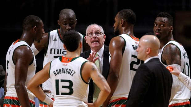 Ten years after guiding George Mason to the Final Four, Jim Larrañaga is ready to return with Miami