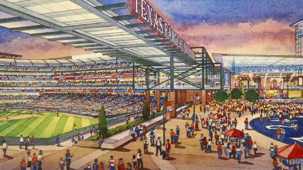 Arlington voters pass ballot measure to fund new Rangers ballpark - IMAGE