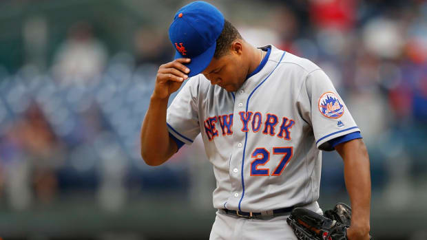 Mets' Jeurys Familia arrested on domestic violence charge - IMAGE