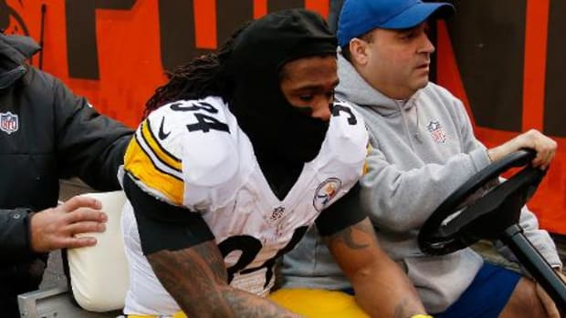 NFL Week 17 injury roundup: Steelers RB DeAngelo Williams hurt -- IMAGE