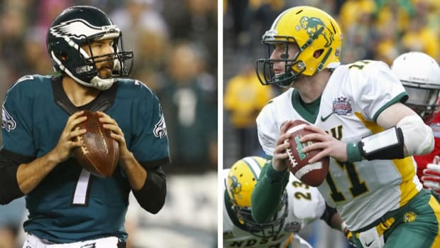 Carson Wentz on meeting Sam Bradford: 'We talked football' - IMAGE