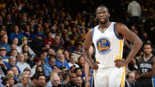 Mother of former Spartan Draymond Green gives son 'Crying Jordan' treatment