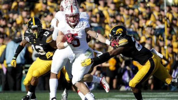 Christian McCaffrey breaks multiple records in Rose Bowl victory -- IMAGE