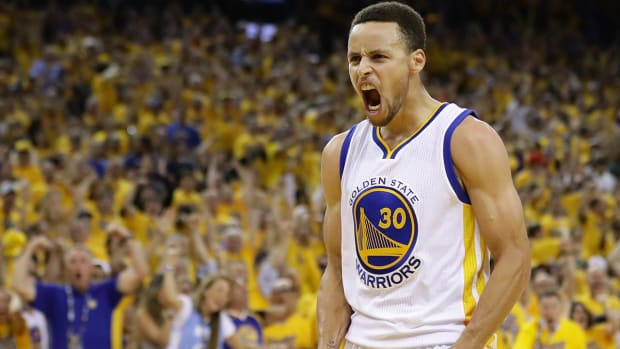Warriors win game 7, will face Cavaliers in Finals - IMAGE