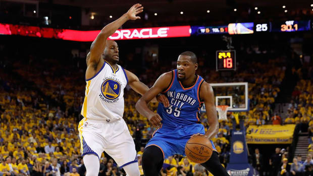 Andre Iguodala on Kevin Durant: 'Must be fun playing with a guy like that' - IMAGE