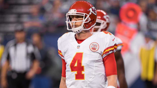 Nick Foles to start in place of Alex Smith - IMAGE