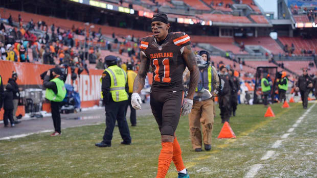 Terrelle Pryor agrees with Adam Jones: 'I was garbage' - IMAGE