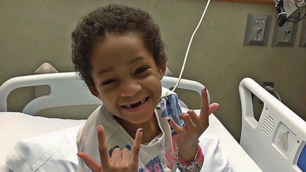Leah Still to be discharged on Tuesday--IMAGE