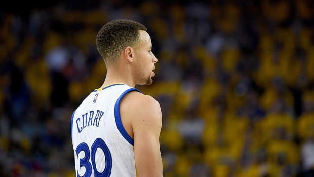 Stephen Curry (ankle) out for Warriors' Game 2 vs. Rockets