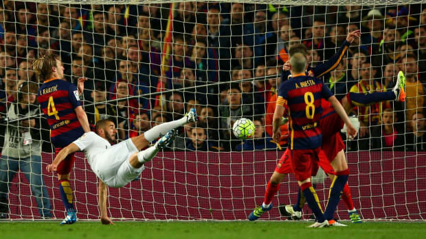 Real Madrid defeats Barcelona in El Clasico - IMAGE