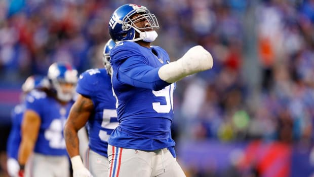 Report: Giants, Jason Pierre-Paul reach one-year deal--IMAGE