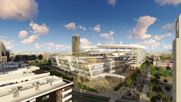 Chargers release images of proposed San Diego stadium -- IMAGE