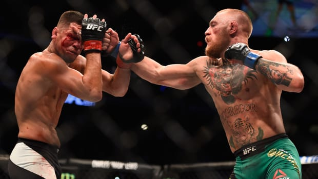 Conor McGregor Nate Diaz 2