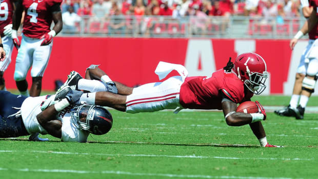 Transferring Alabama wide receiver critical of team IMAGE