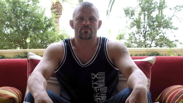 Before Conor McGregor and Ronda Rousey there was Chuck Liddell -- IMAGE