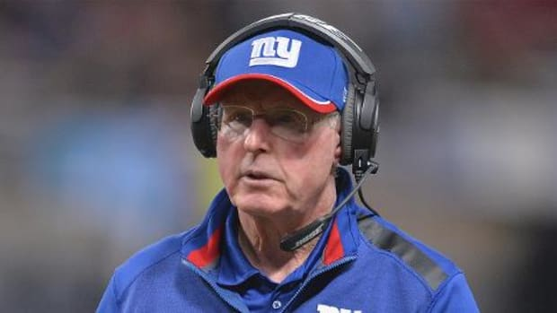 Tom Coughlin resigns as Giants head coach -- IMAGE