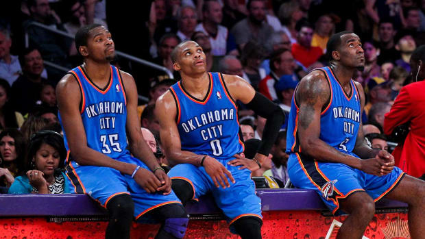 Kendrick Perkins: Durant, Westbrook 'never really valued each other' - IMAGE