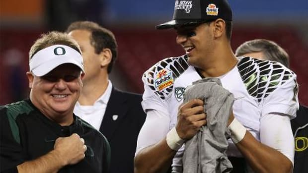 Marcus Mariota on Chip Kelly: He's a proven winner -- IMAGE