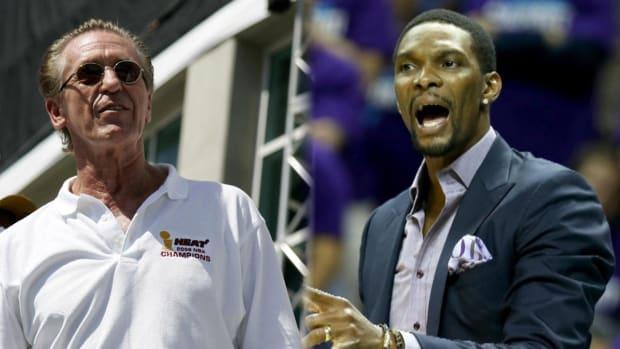 Pat Riley unsure if Chris Bosh will play again --IMAGE