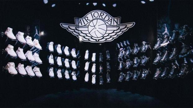 Kobe Bryant receives full set of Air Jordan sneakers - IMAGE