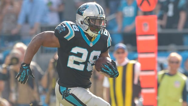 Report: Panthers' Jonathan Stewart (foot) expected to play Sunday--IMAGE
