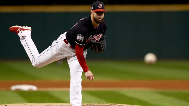 Corey Kluber to pitch Games 4, 7 as Indians set World Series rotation IMAGE