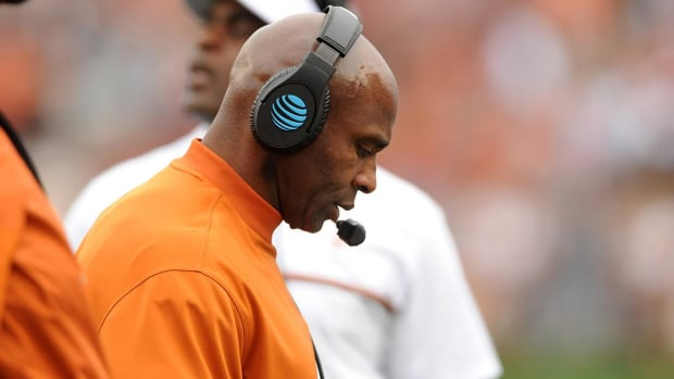 Texas fires head coach Charlie Strong after three seasons--IMAGE