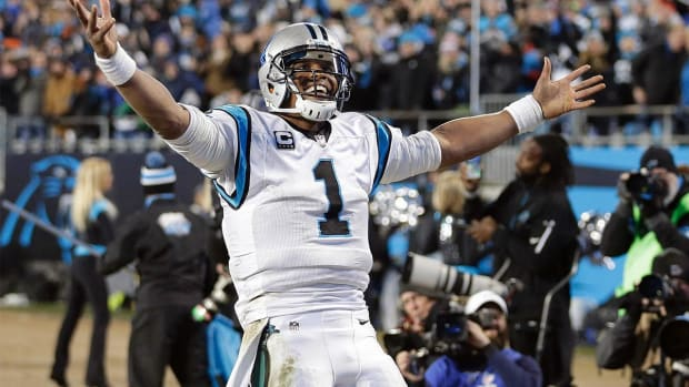 Cam Newton makes history with MVP win - IMAGE