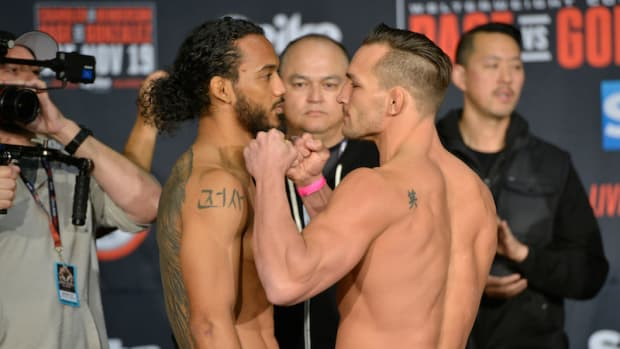 Benson Henderson v. Michael Chandler weigh in