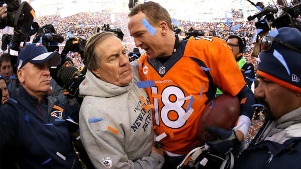 Peyton Manning to Bill Belichick: 'This might be my last rodeo'--IMAGE