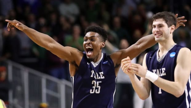 The music of March Madness: Brandon Sherrod helps lead Yale into second round of 2016 NCAA tournament