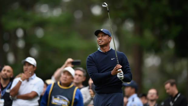Tiger Woods is including himself on his Presidents Cup team.