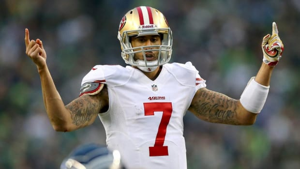 Report: Broncos interested in Colin Kaepernick if he takes pay cut -- IMAGE