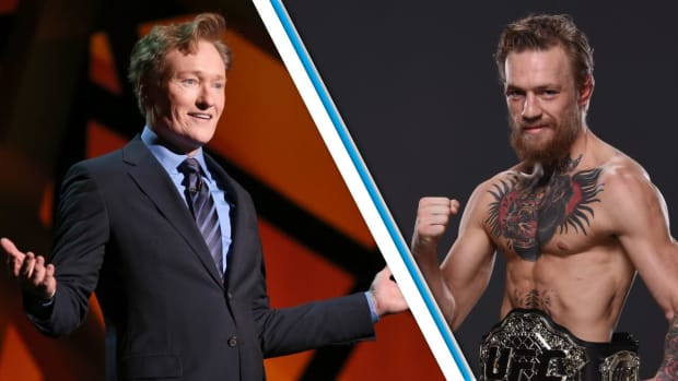 Conor McGregor owns Conan O'Brien in UFC 2--IMAGE