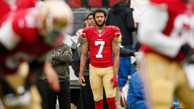 Trump, Harbaugh, Brees criticize Kaepernick's protest -- IMAGE