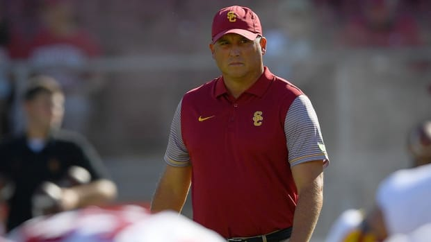 #DearAndy: Could Tom Herman potentially replace Clay Helton at USC? -- IMAGE