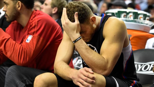 Clippers' Blake Griffin (quad) out for remainder of playoffs--IMAGE