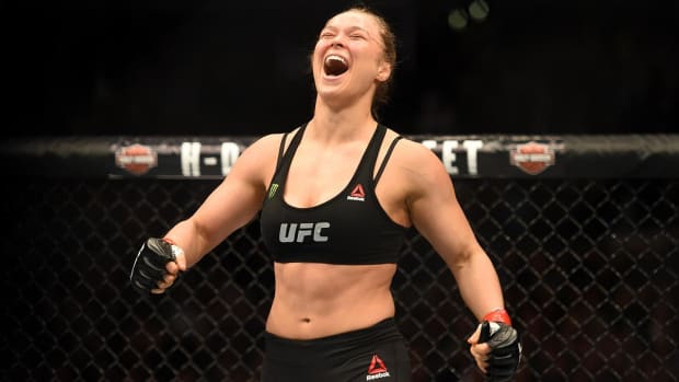 Ronda Rousey wants to fight Cris 'Cyborg' - IMAGE