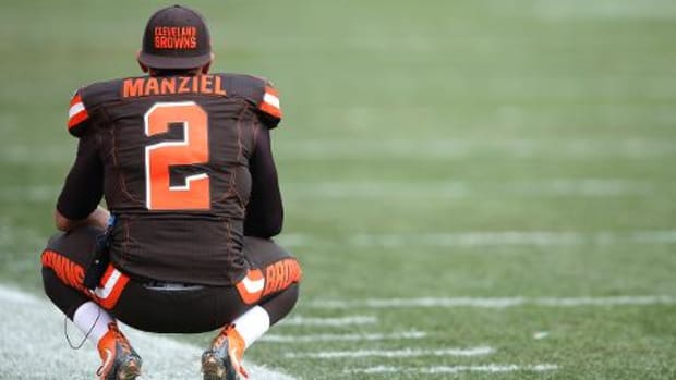 Johnny Manziel dropped by LeBron James' marketing agency - IMAGE
