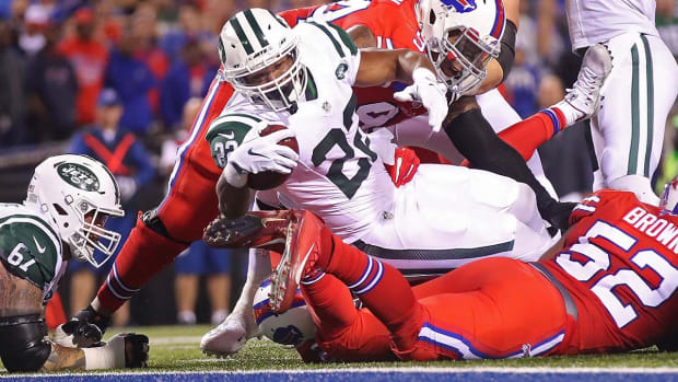 Matt Forte's three touchdowns power Jets past Bills -- IMAGE