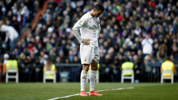 Cristiano Ronaldo calls out Madrid teammates after loss -- IMAGE
