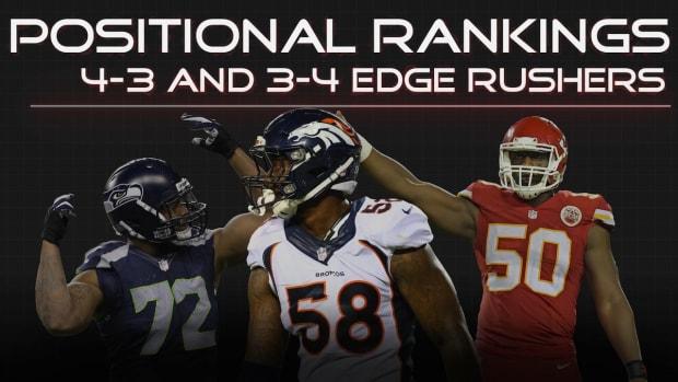 Positional Rankings: Edge rushers IMAGE