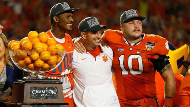 Two checks, one path altered: How a timely Discover card envelope forever changed Dabo Swinney's life