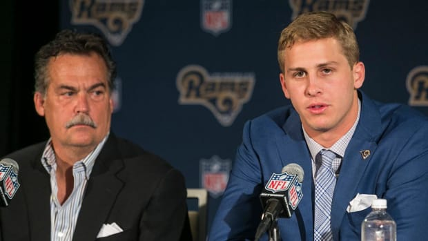 Jeff Fisher: Jared Goff would be No. 3 QB if season started today -- IMAGE