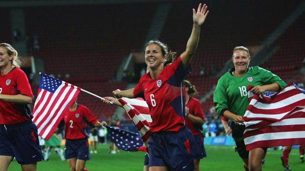 Chastain, MacMillan, Garber elected to National Soccer Hall of Fame--IMAGE